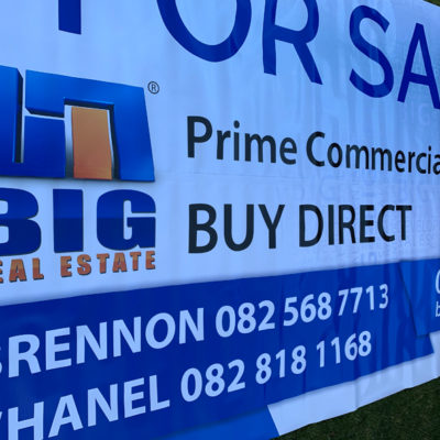 BIG Real Estate Signage PVC Banner