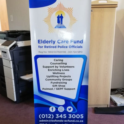 Elderly Care Fund X-Banner