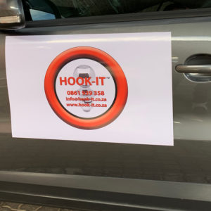 Hook-it Car Magnet