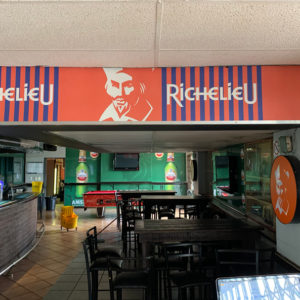 Richelieu Wallpaper Branding