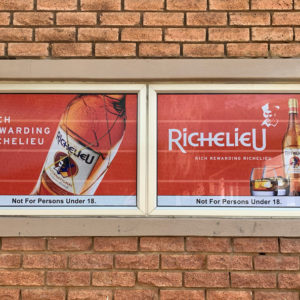 Richelieu Window Branding Contravision