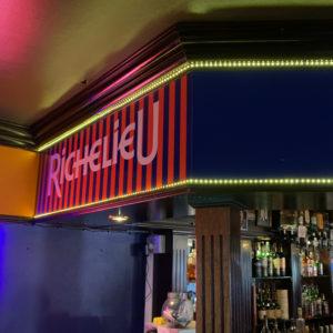 Richelieu Vinyl Shop Branding
